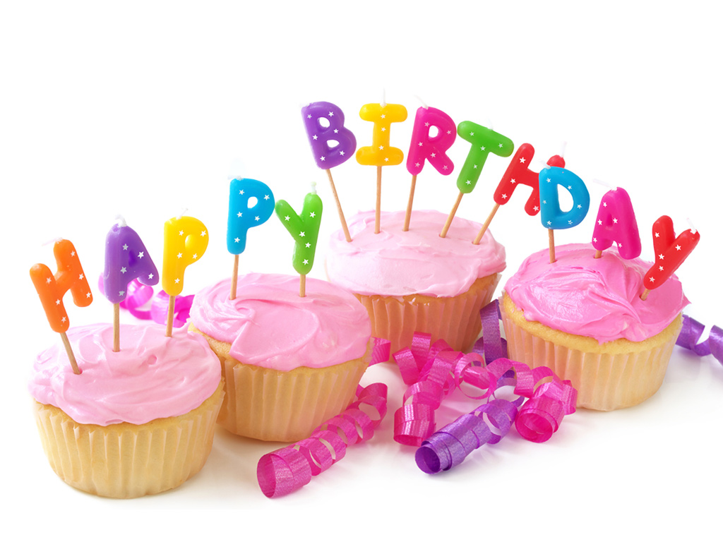 Free Happy Birthday image PPT Backgrounds