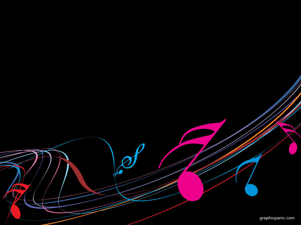 Download free Free Music Cliparts Frame - PPT Backgrounds