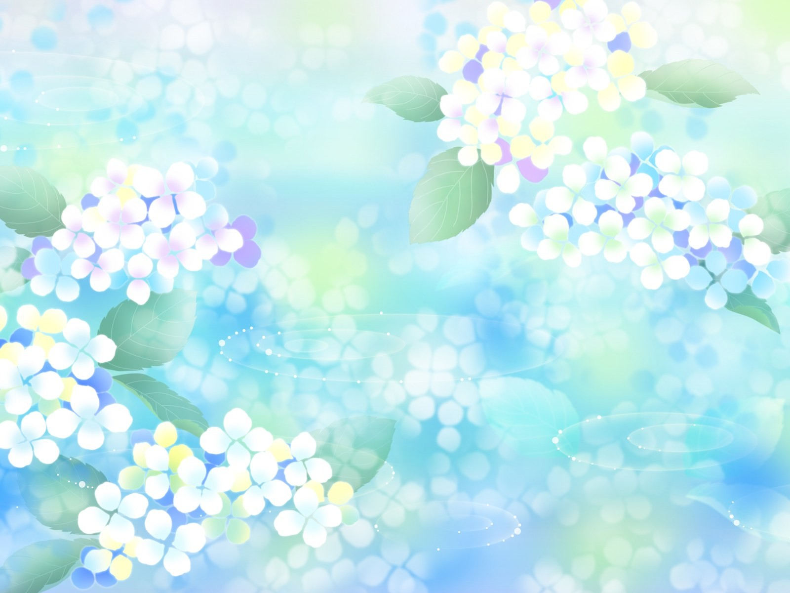 Download free Free Pastel Flowers For PowerPoint Flower Template ...