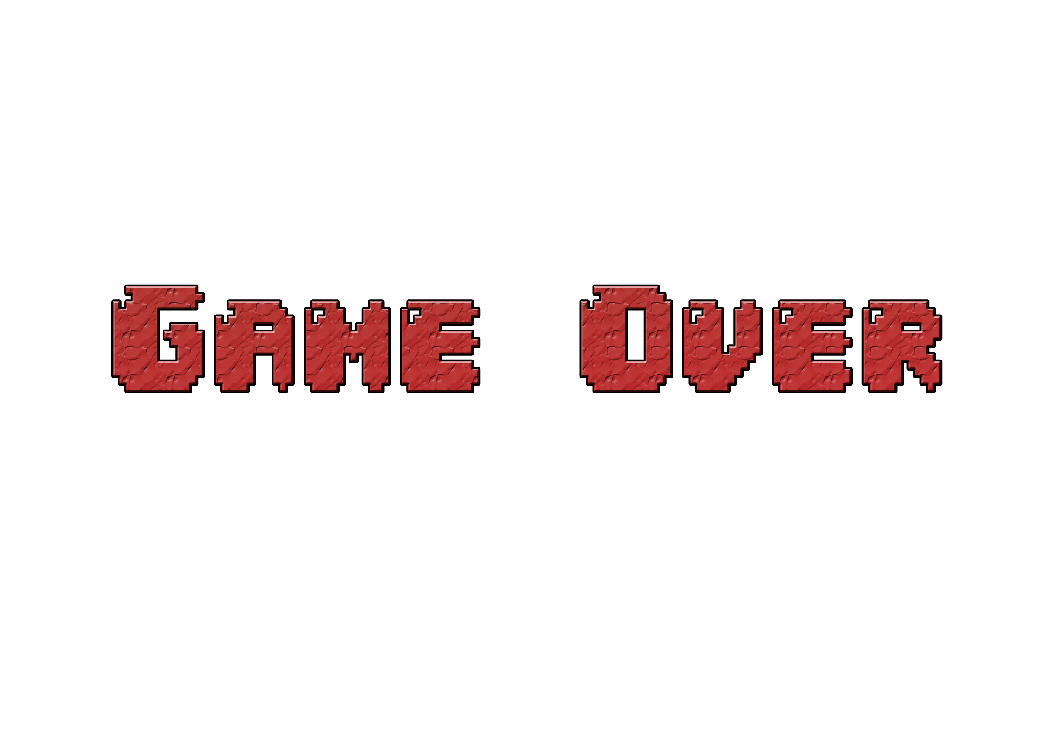 Game Over Png Image PPT Backgrounds