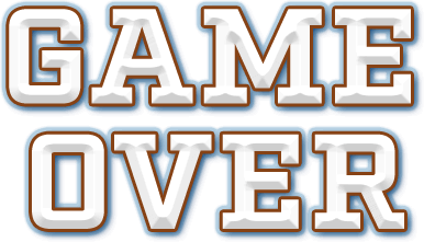 Game Over Png Text Image PPT Backgrounds