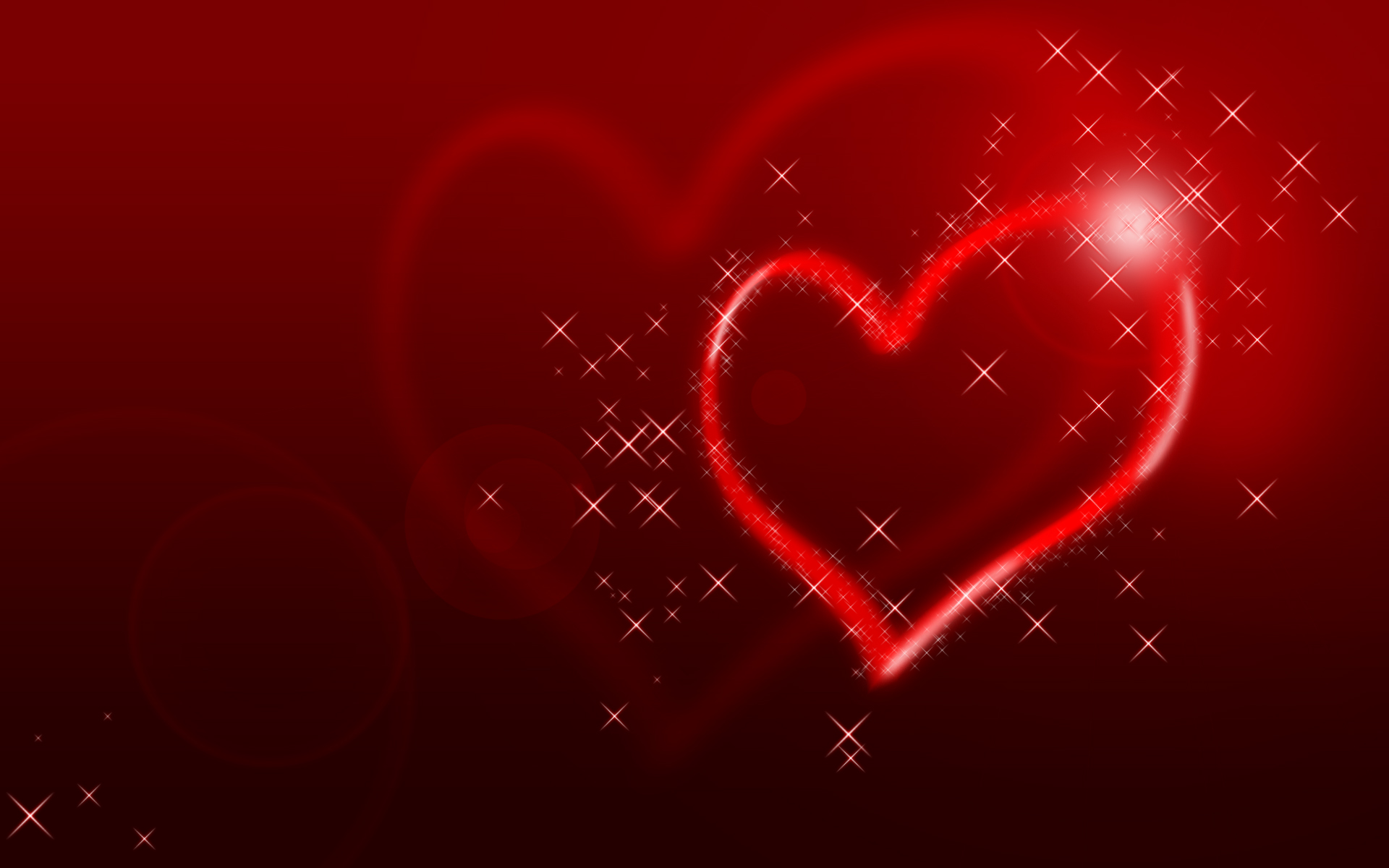 Glittering Hearts  HDs Wallpaper PPT Backgrounds