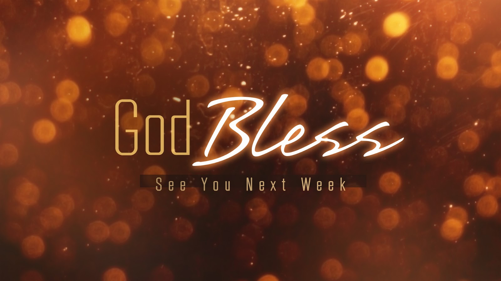God Bless Have A Great Week Wallpaper PPT Backgrounds