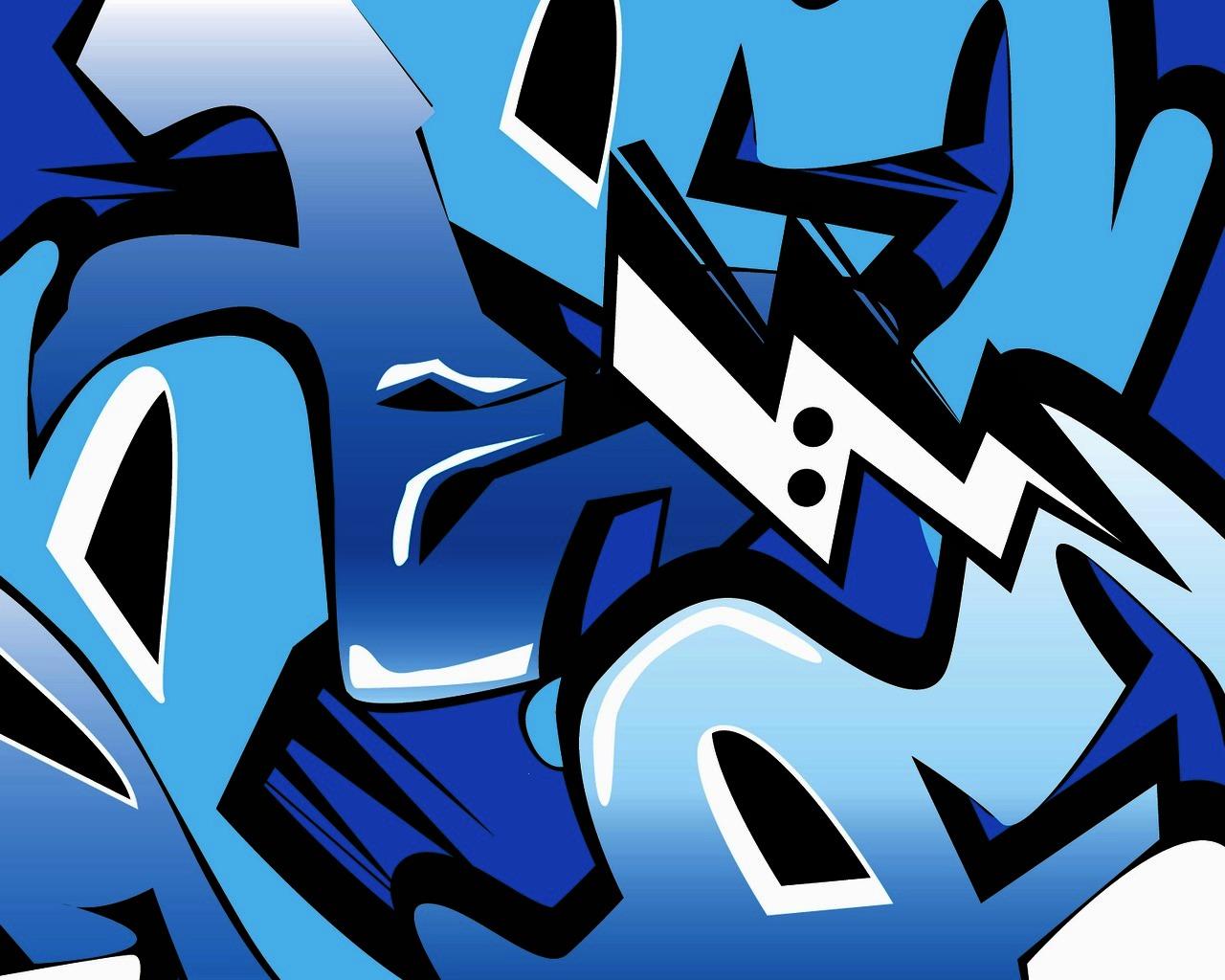 Graffiti Art Music backgrounds PPT Backgrounds