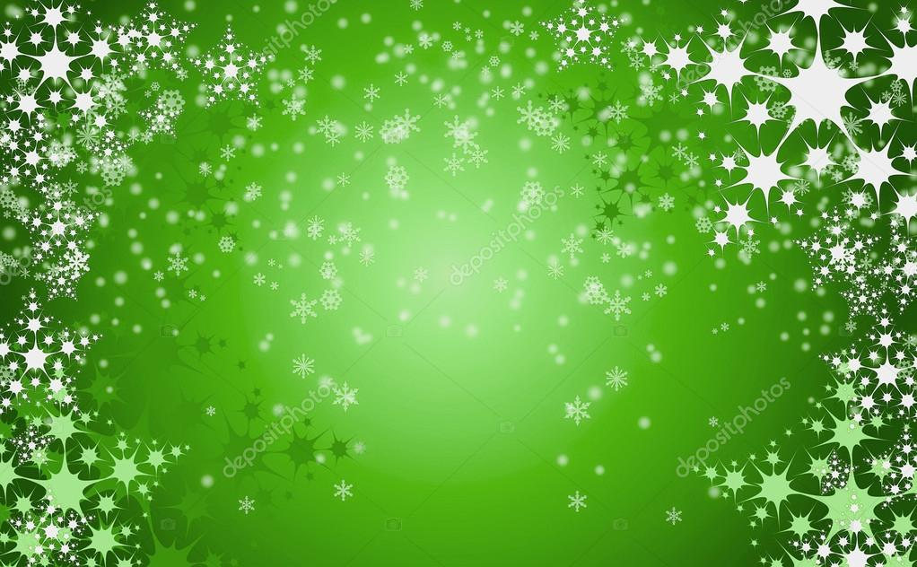 Green Christmas Template PPT Backgrounds