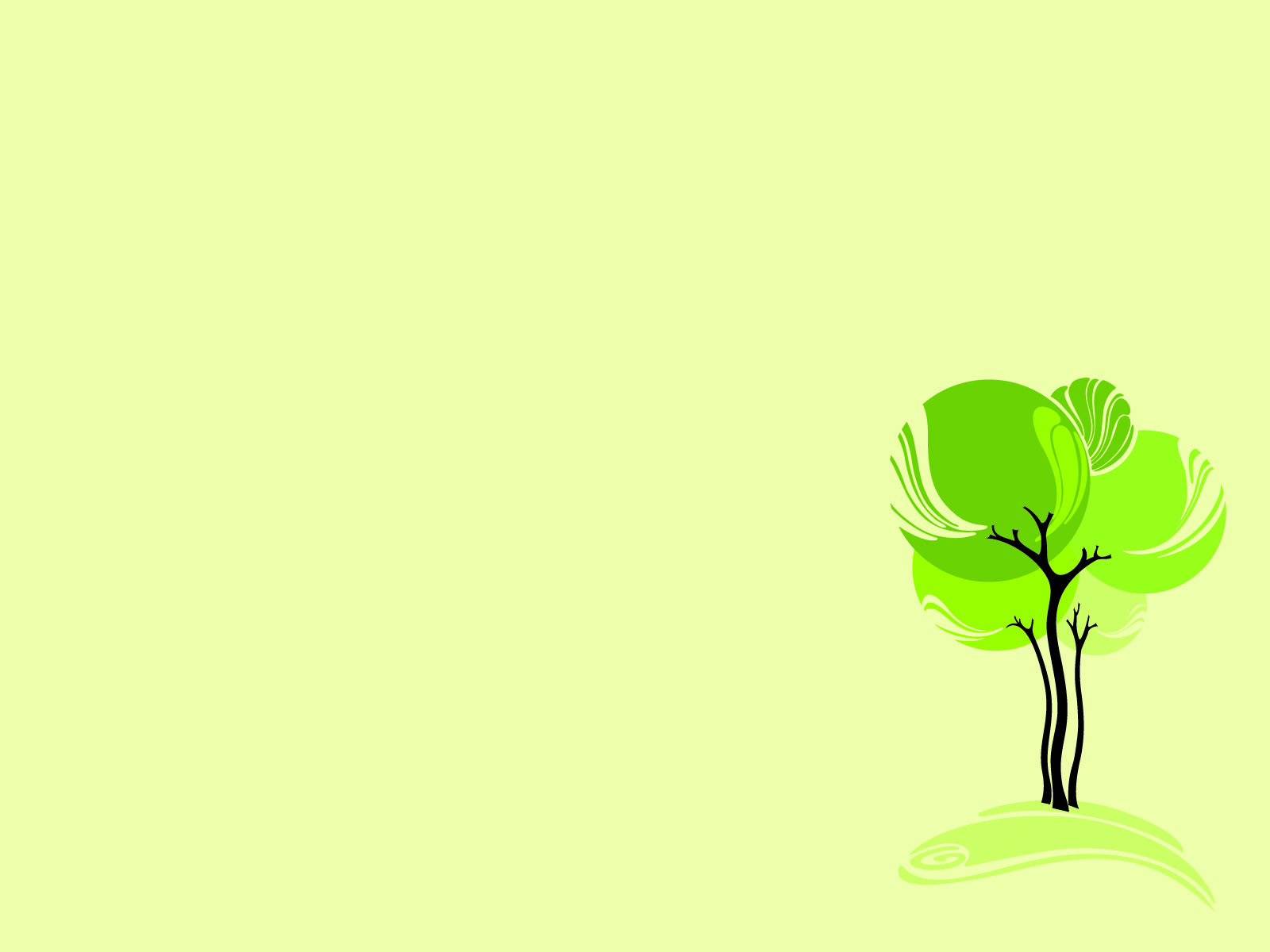 Download Free Green Design Tree Nature Ppt Picture Ppt Backgrounds