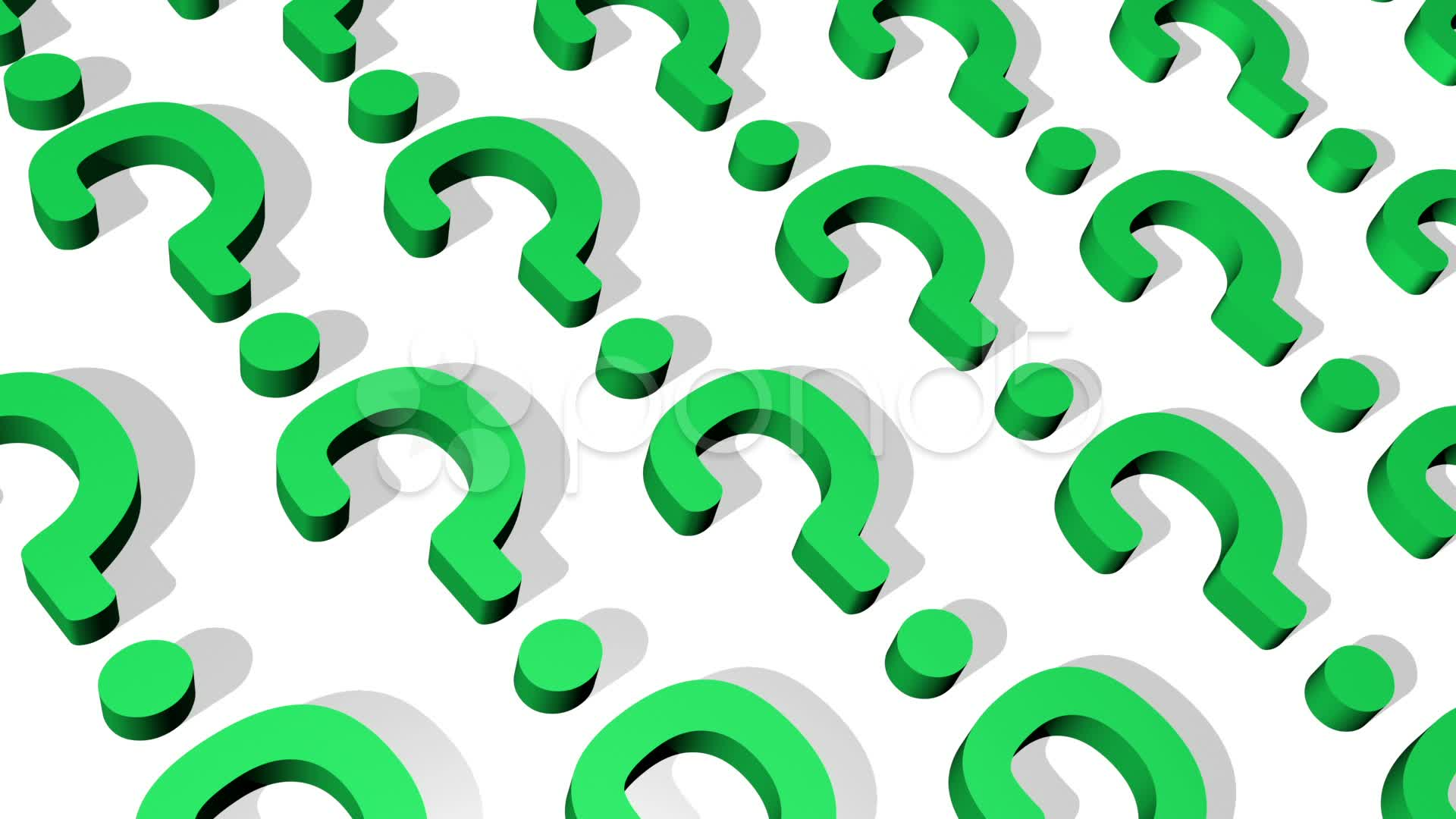 Green Question Marks Mark Loop Image Backgrounds For Powerpoint Templates