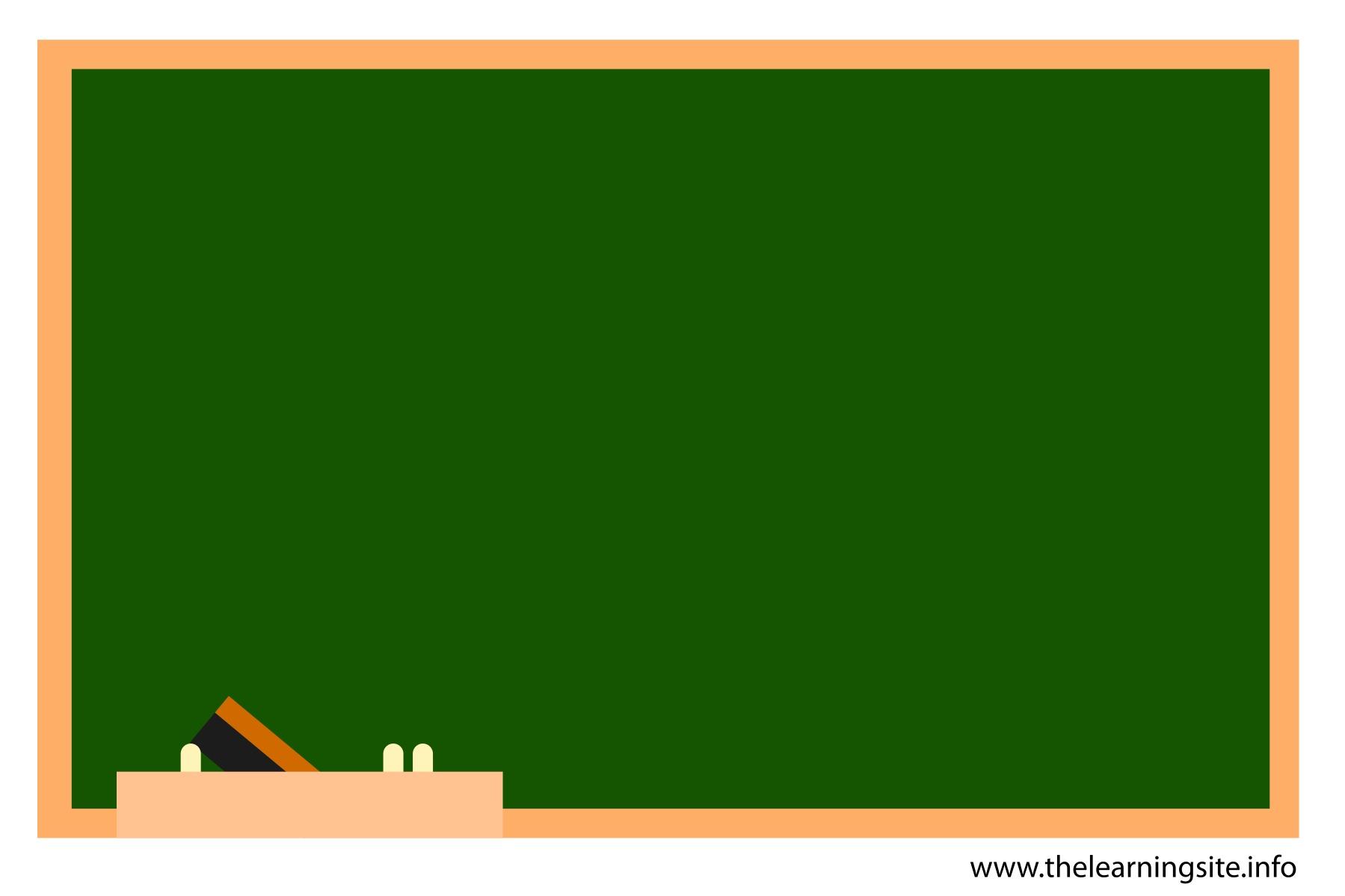 Green School Chalkboard PPT Backgrounds