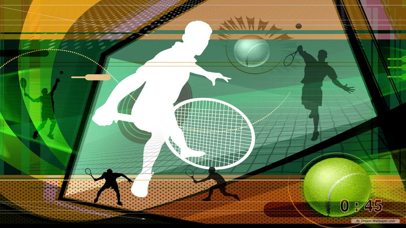 Green Sports Photo PPT Backgrounds