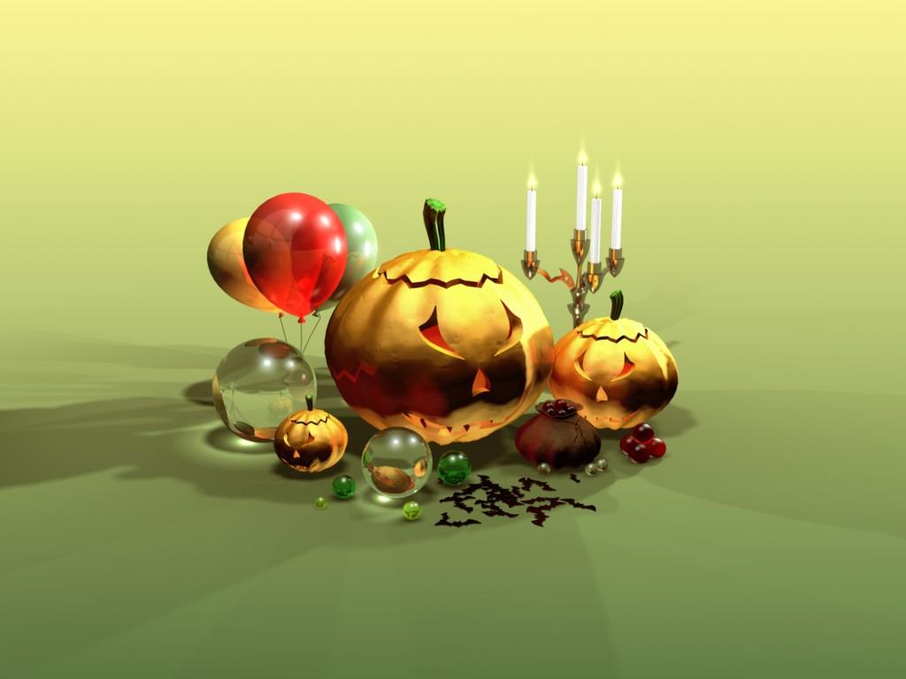 Halloween Art PPT Backgrounds