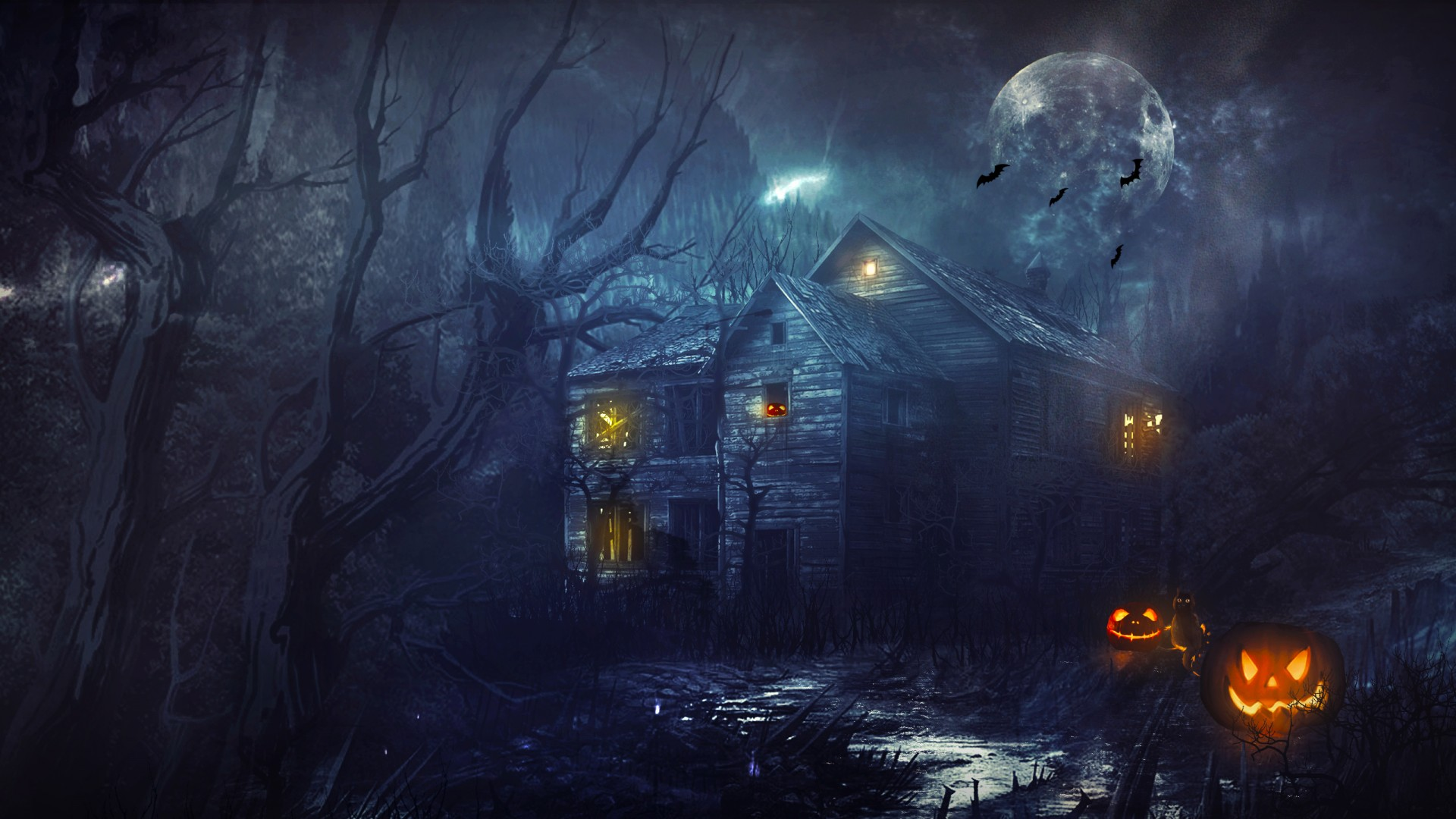 Halloween PPT Backgrounds