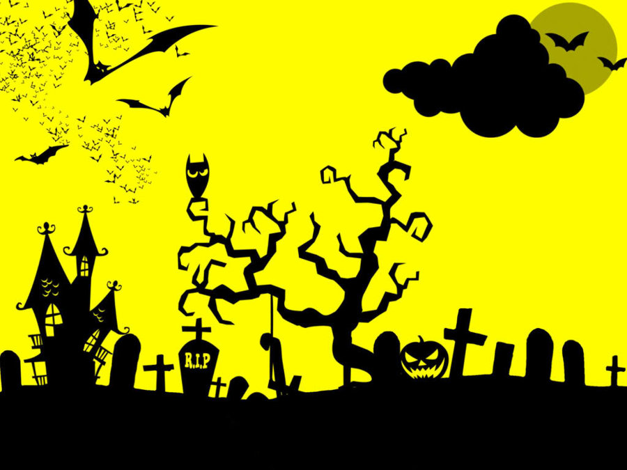 Halloween Presentation PPT Backgrounds