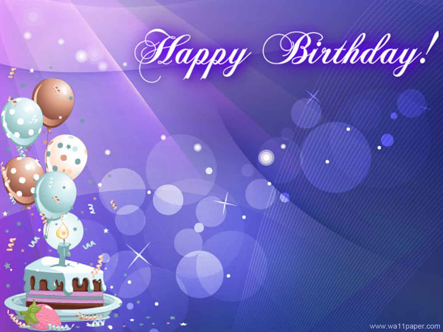 Happy Birthday Cards PPT Backgrounds