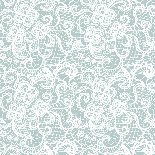 Lace Pattern White Lace Seamless Pattern Design PPT Backgrounds