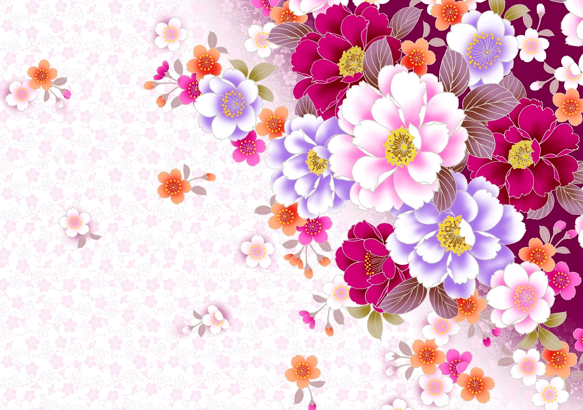 Lorful Template Professional Flower Pattern Powerpoint Quality Backgrounds For Powerpoint Templates Ppt Backgrounds