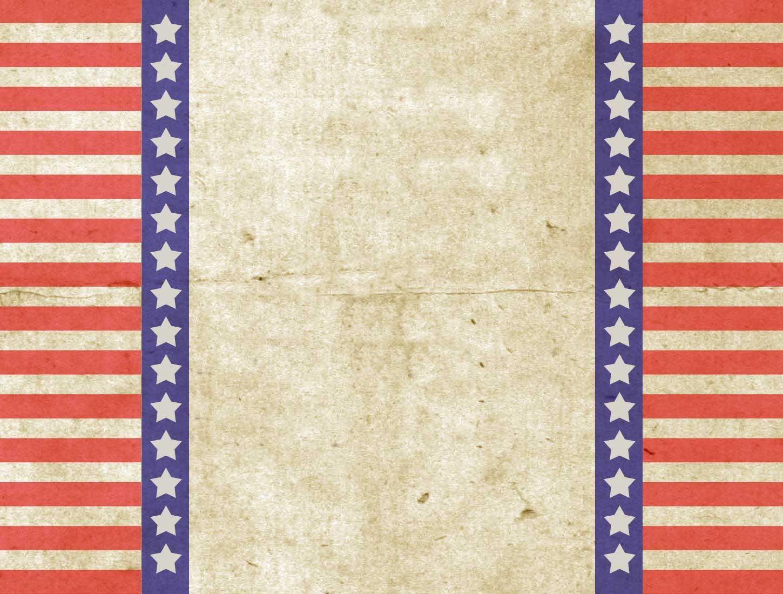 Patriotic Vintage Vintage Patriotic Design PPT Backgrounds