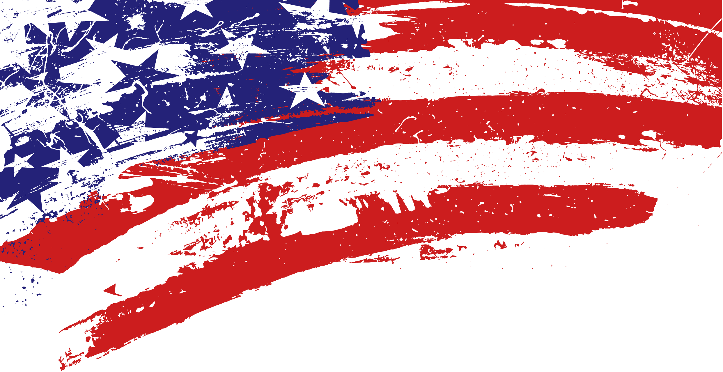 Patterned American Flag Desktop Wallpaper PPT Backgrounds