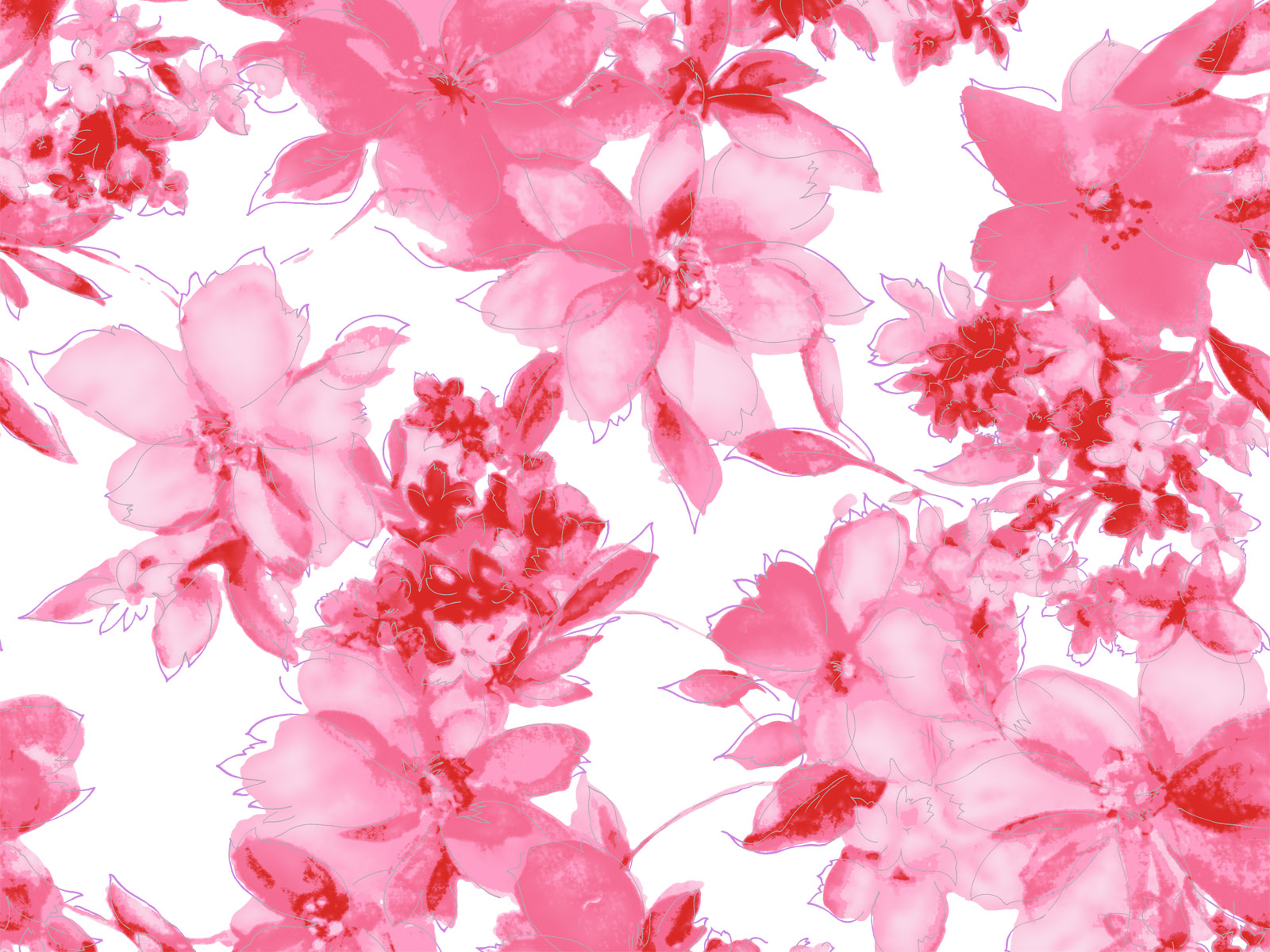 Pink Floral Backgrounds For Powerpoint Templates Ppt Backgrounds
