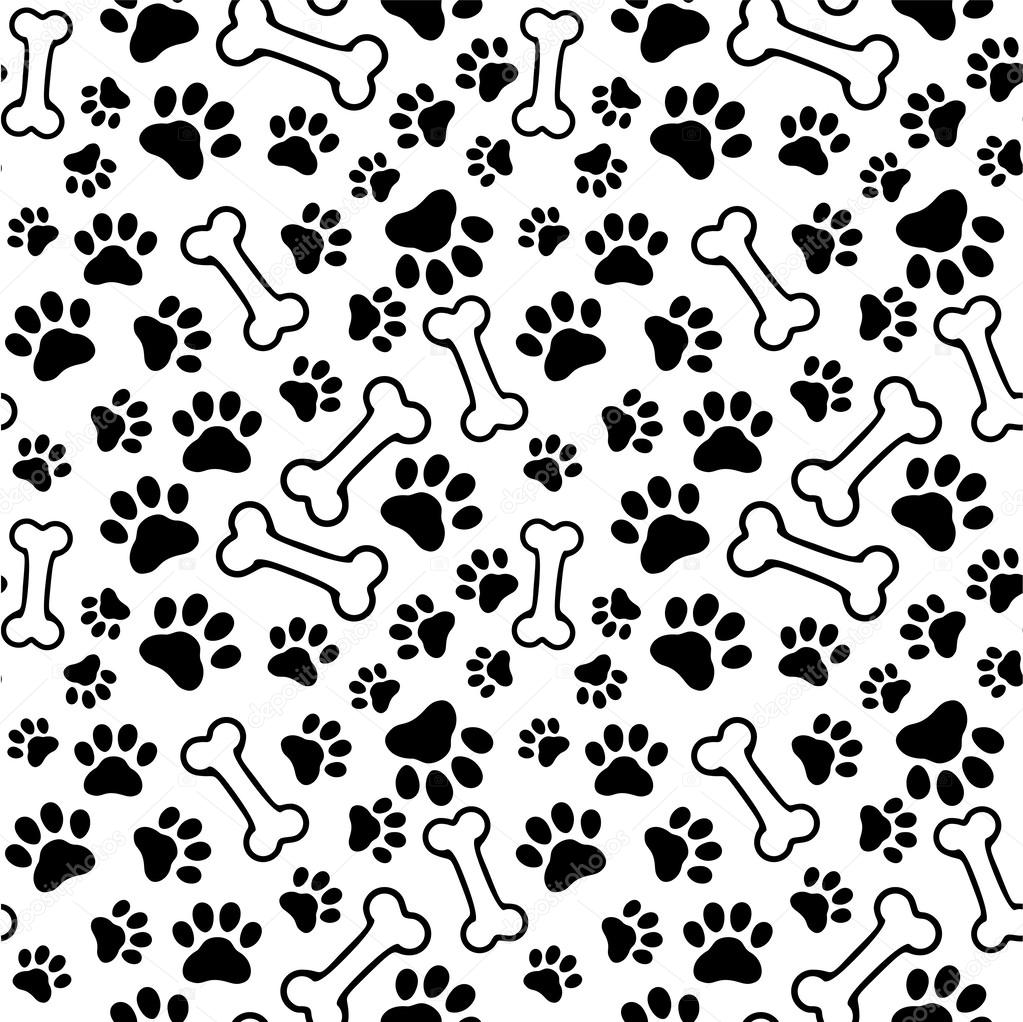 Download free Puppy Paw Print Seamless Pet Paw - PPT Backgrounds