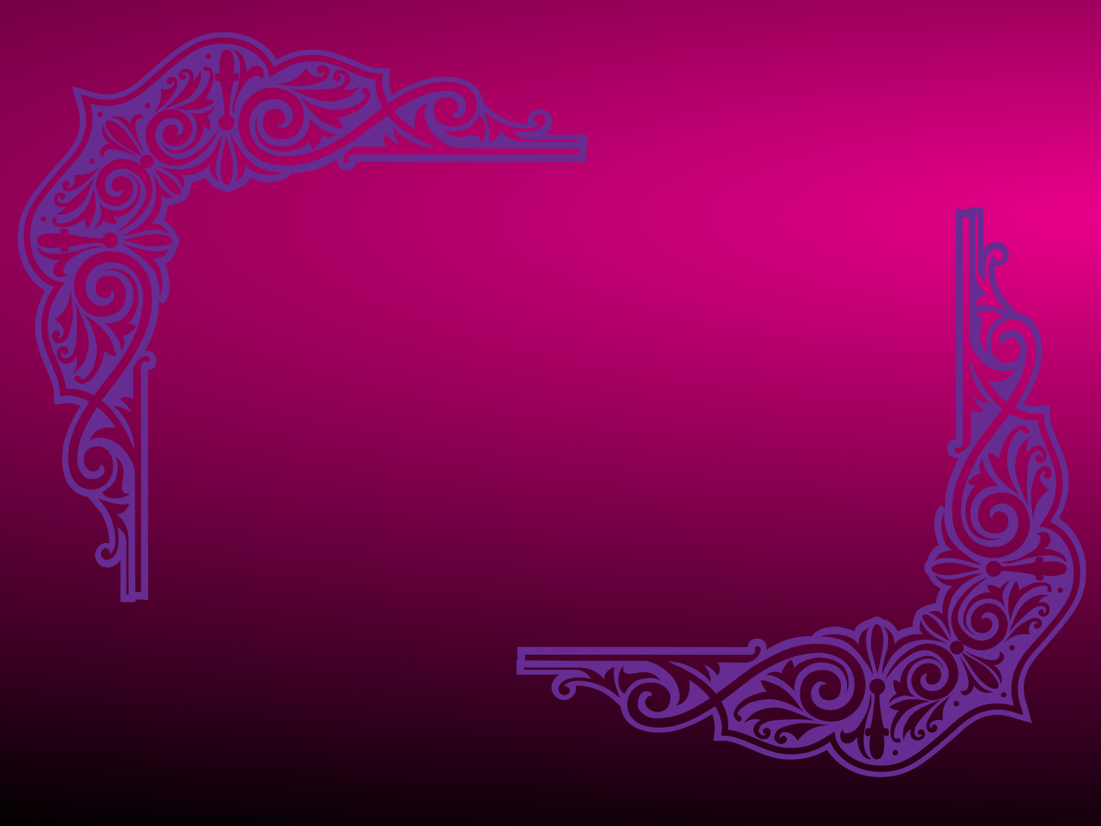 Purple Frame PPT Backgrounds
