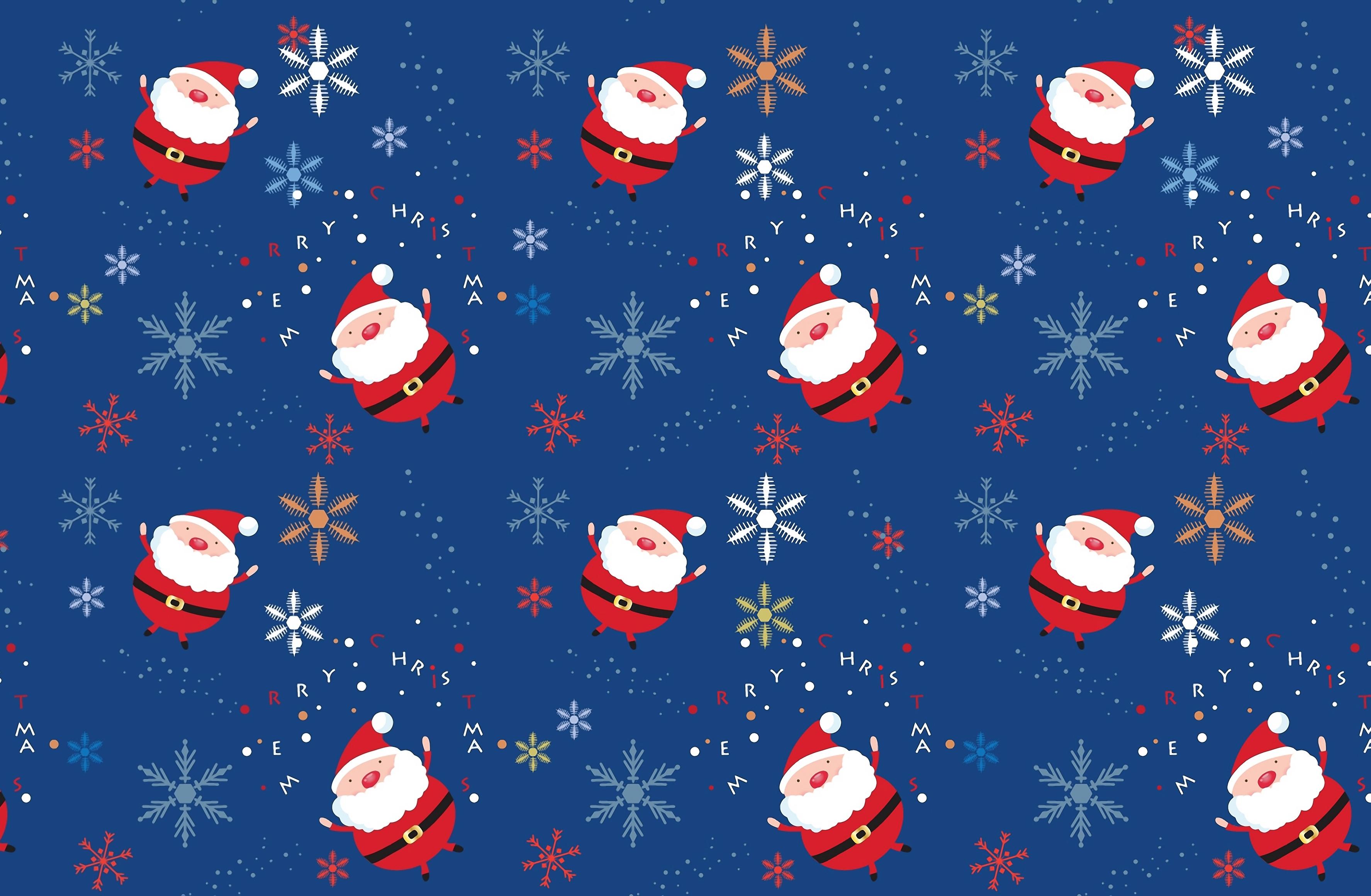 Santa Claus image PPT Backgrounds