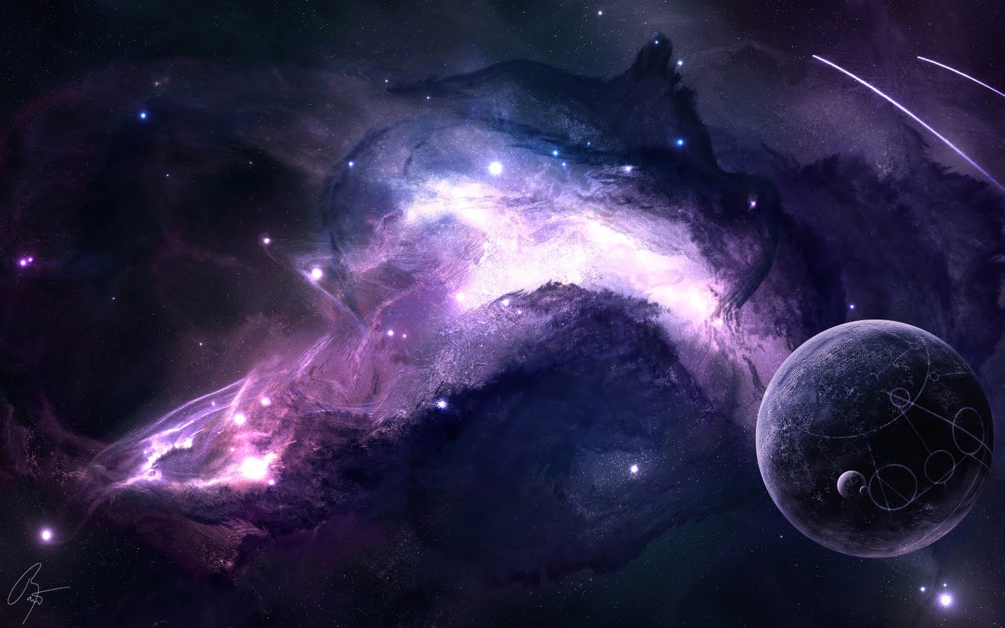Space Photo PPT Backgrounds