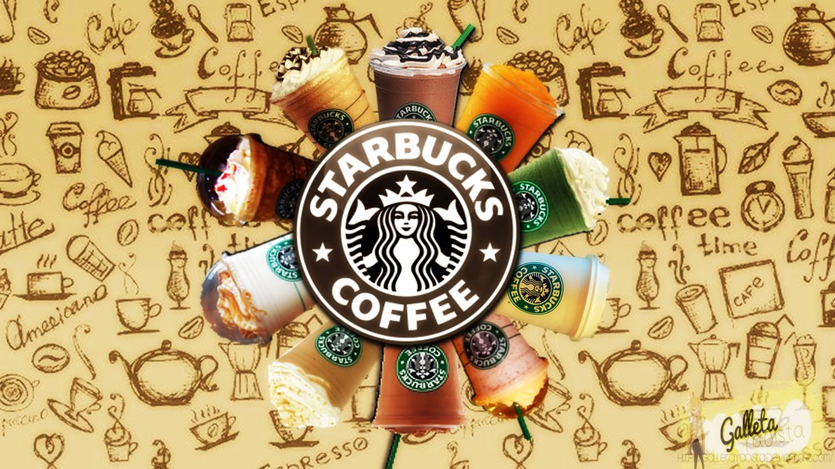 Starbucks Clip Art PPT Backgrounds