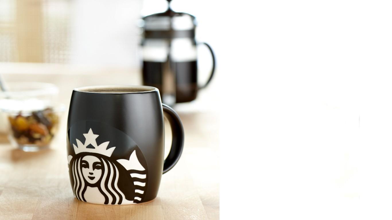 Starbucks Template PPT Backgrounds