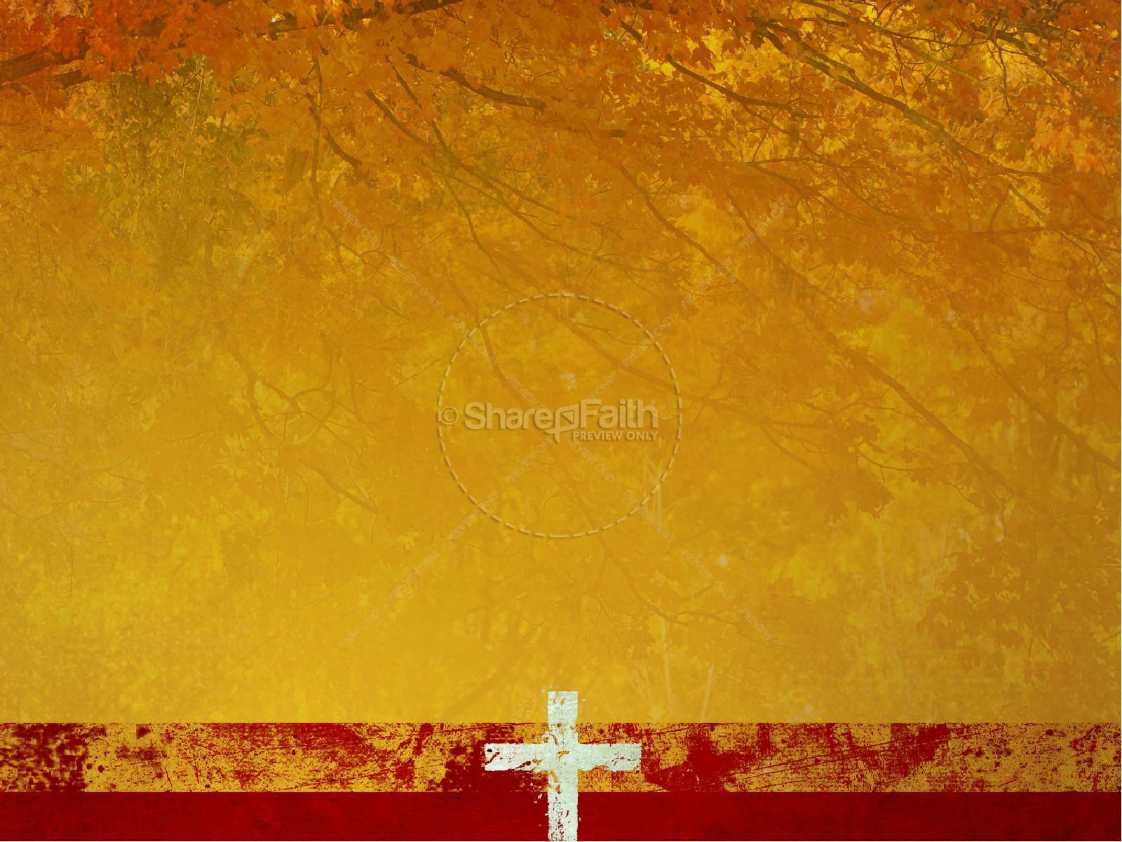 Thanksgiving Prayer Sermon Powerpoint Fall Thanksgiving Powerpoints