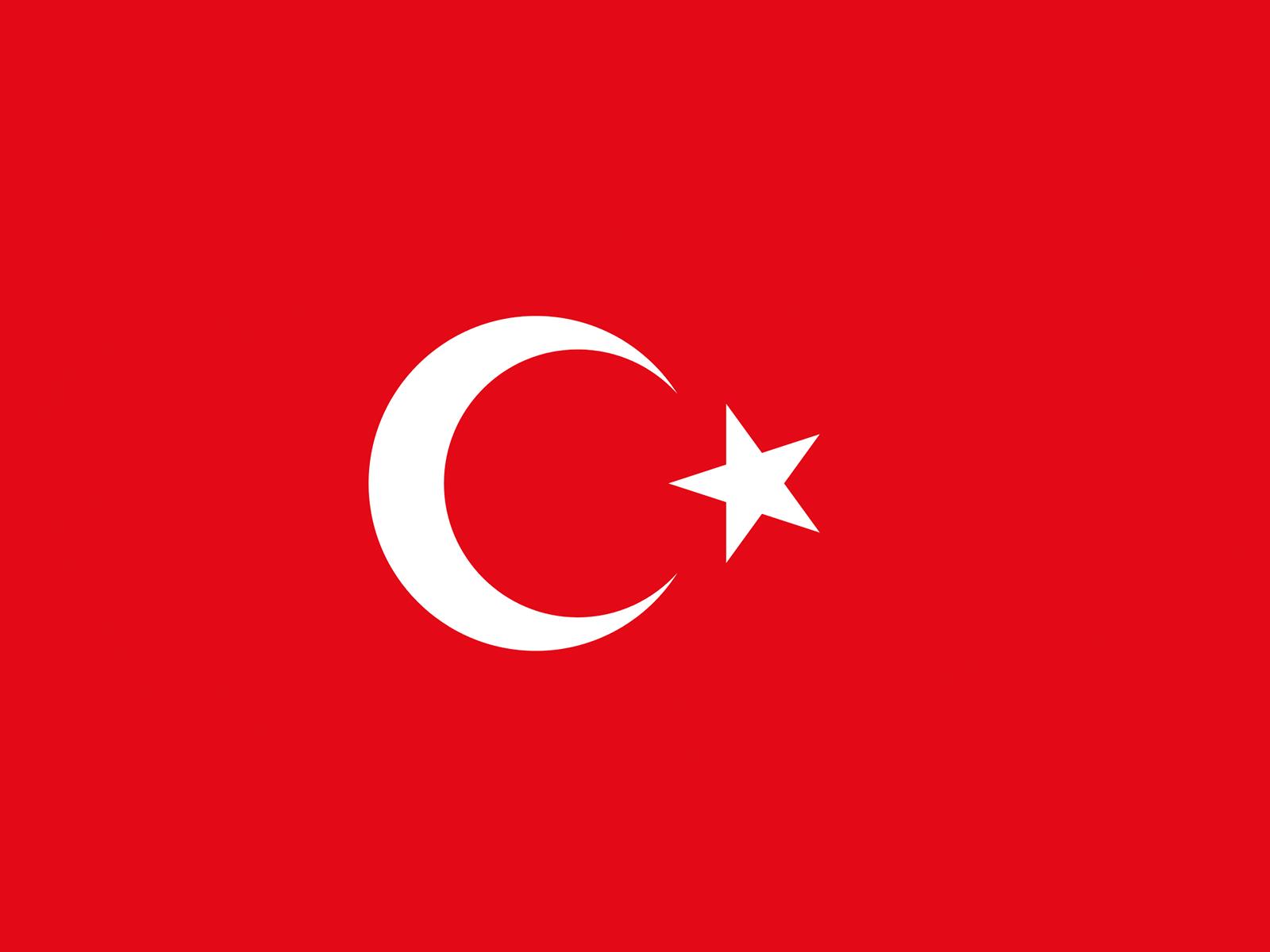 download free turkish flag ppt backgrounds