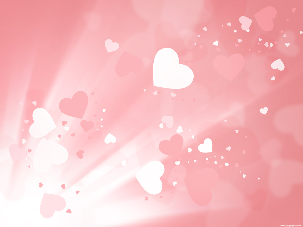 Download Free Valentine Heart Quality Ppt Backgrounds