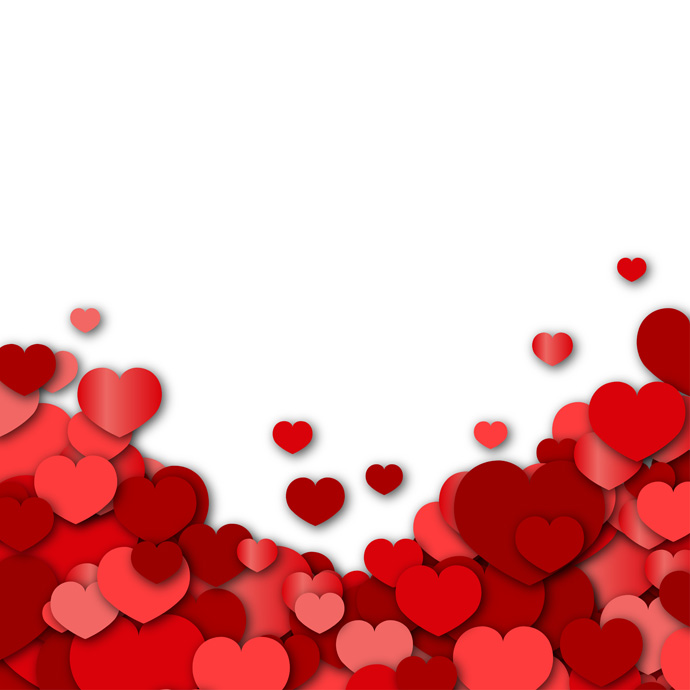 Valentines Day  GreatVectors  GreatVectors Template PPT Backgrounds