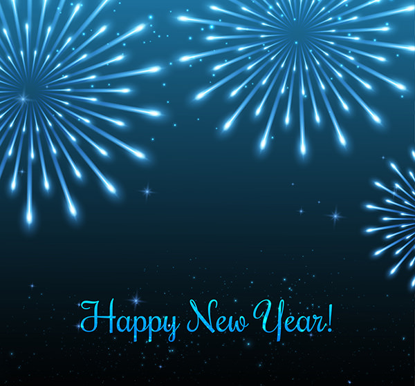 vector new year design ppt backgrounds