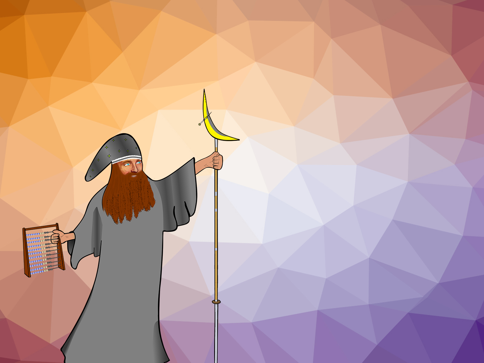Wizard Fantasy Science PPT Backgrounds